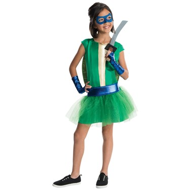 TMNT - Deluxe Leonardo Girl Tutu Costume
