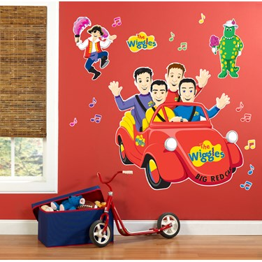 The Wiggles Giant Wall Decals