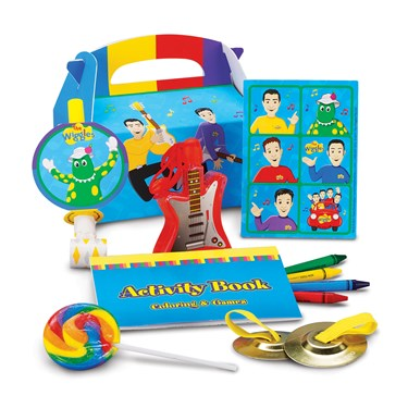 The Wiggles Party Favor Box