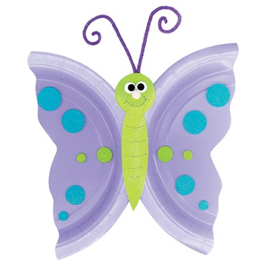 Foam Butterfly Plate Activity Kit