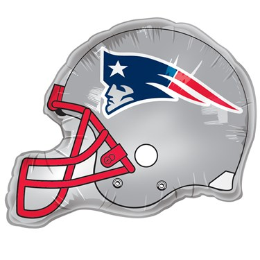 New England Patriots Helmet Jumbo Foil Balloon
