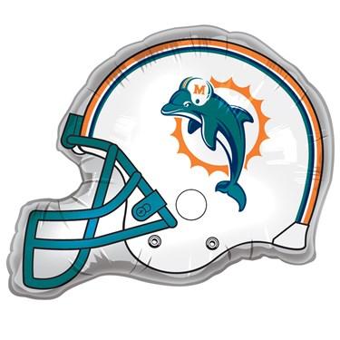 Miami Dolphins Helmet Jumbo Foil Balloon