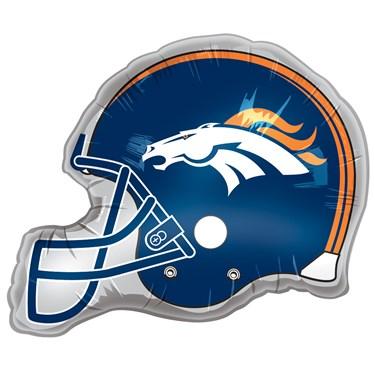 Denver Broncos Helmet Jumbo Foil Balloon