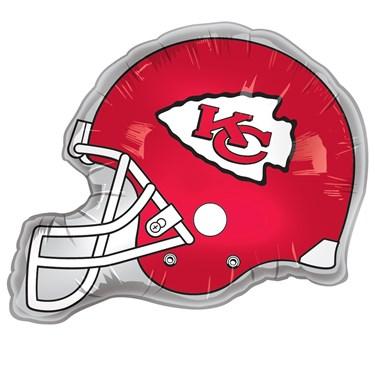 Kansas City Chiefs Helmet Jumbo Foil Balloon