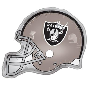Oakland Raiders Helmet Jumbo Foil Balloon