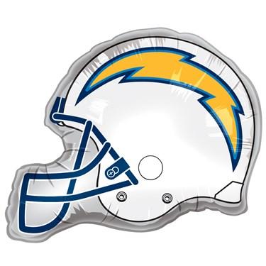 San Diego Chargers Helmet Jumbo Foil Balloon