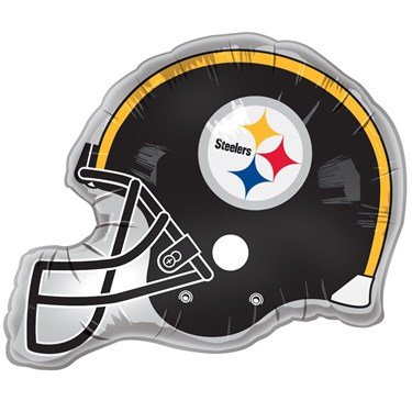 Pittsburgh Steelers Helmet Jumbo Foil Balloon