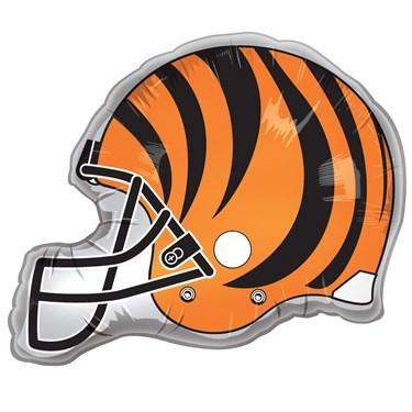 Cincinnati Bengals Helmet Jumbo Foil Balloon