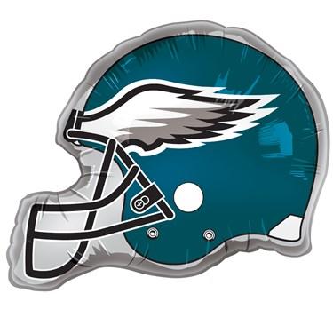 Philadelphia Eagles Helmet Jumbo Foil Balloon