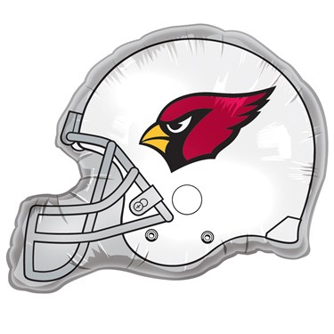 Arizona Cardinals Helmet Jumbo Foil Balloon