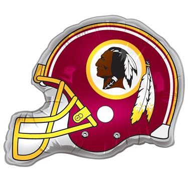 """Washington Redskins Helmet Jumbo 26"""" Foil Balloon"""