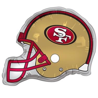 San Francisco 49ers Helmet Jumbo Foil Balloon