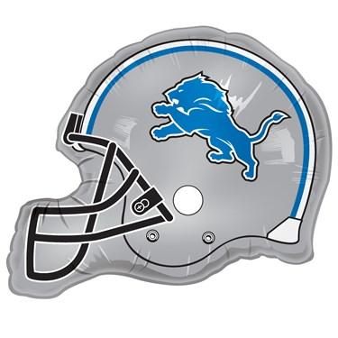 Detroit Lions Helmet Jumbo Foil Balloon