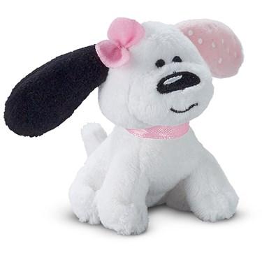Plush Playful Puppy Pink