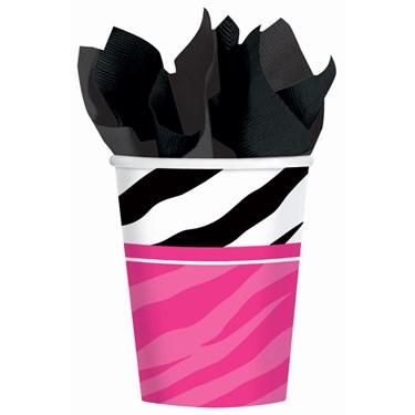 Zebra 9 oz. Paper Cups