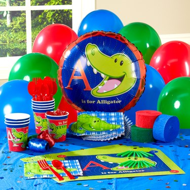 Alligator Personalized Party Theme