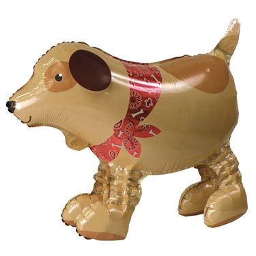 Adorable Doggy Airwalker Foil Balloon