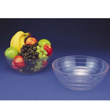 Ringed Large Plastic Bowl (5 Quart)