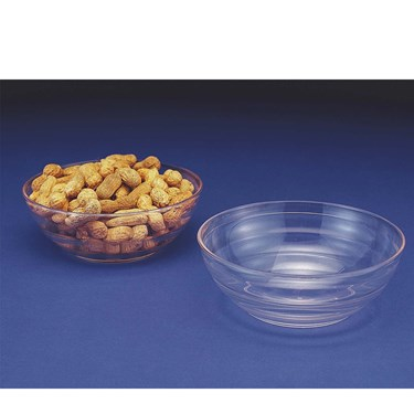 Ringed Small Plastic Bowl