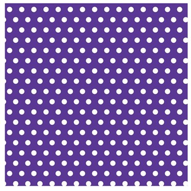 Purple Polka Dots with Jumbo Gift Wrap