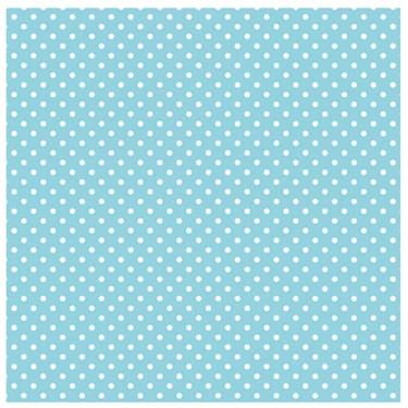 Pastel Blue Small Polka Dot Jumbo Gift Wrap