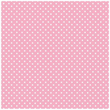 Pastel Pink Small Polka Dot Jumbo Gift Wrap