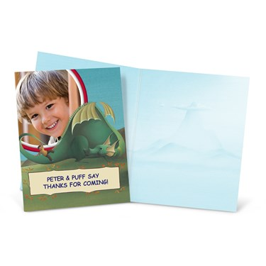Puff, the Magic Dragon Personalized Thank-You Notes