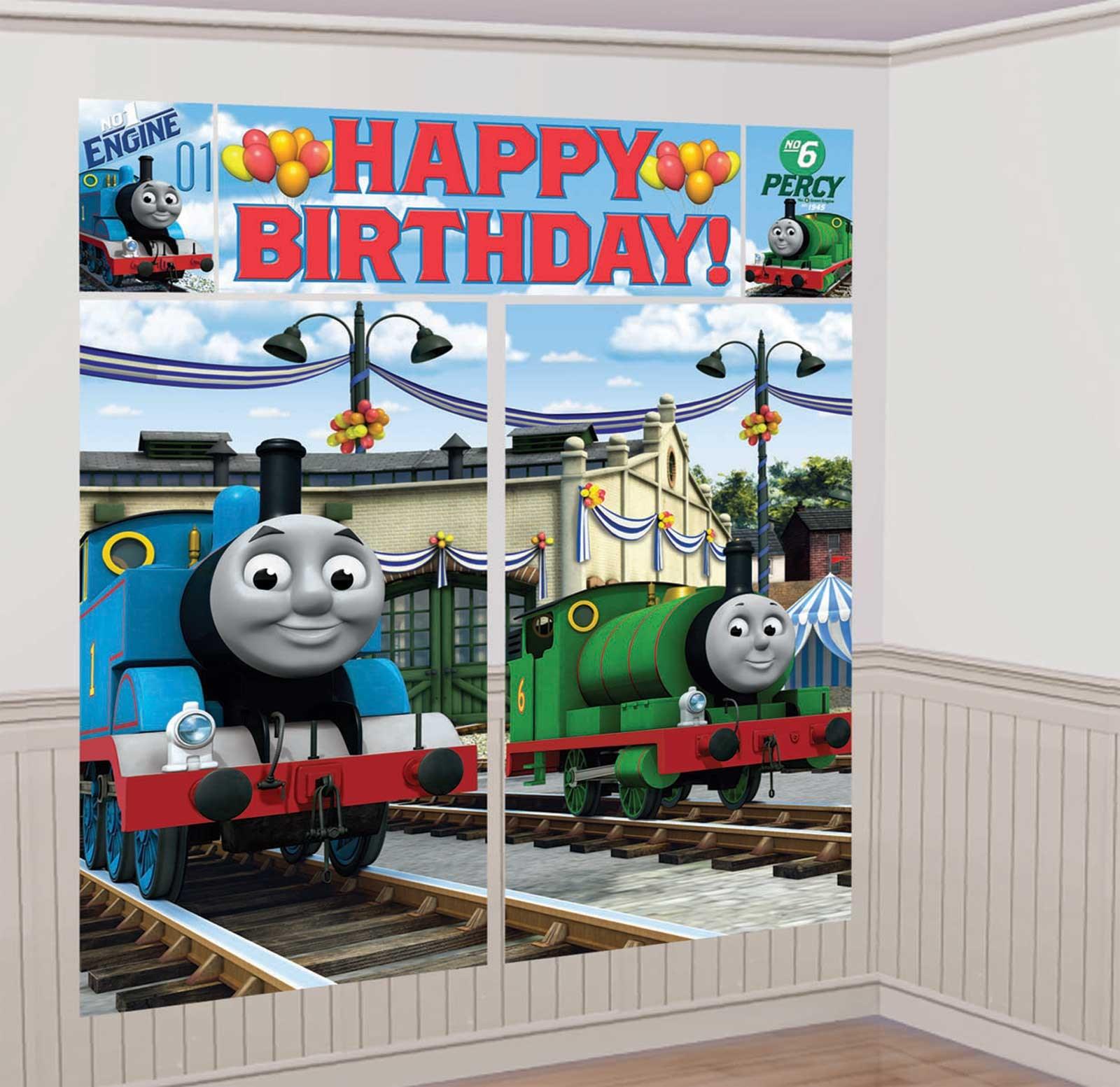 Thomas the Tank Scene Setter- Thomas the Train Party Games for Kids
