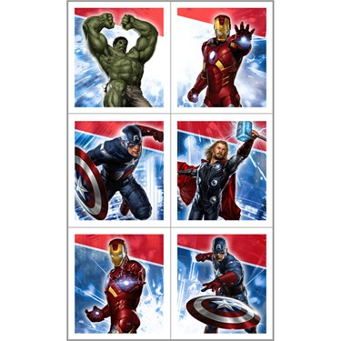 The Avengers Sticker Sheets