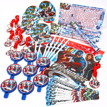 The Avengers Party Favor Value Pack  BirthdayExpress.com