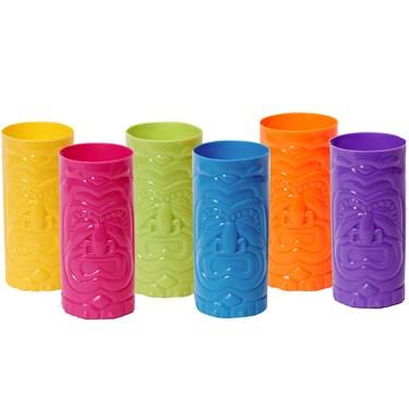 Plastic Tiki Cup Assortment