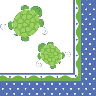 Mr. Turtle Lunch Napkins
