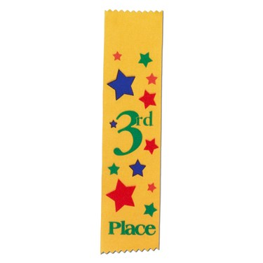 """3rd Place"" Award Ribbons"