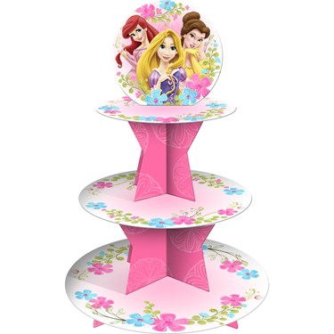Disney Fanciful Princess Tiered Cupcake Stand