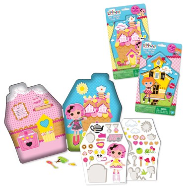 Lalaloopsy Magic Gel Sticker Play Set
