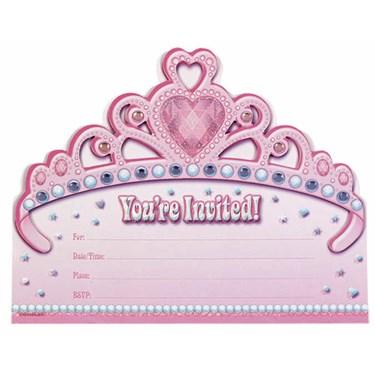 Jumbo Princess Invitations