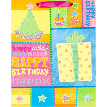 Birthday Party Large Gift Bag