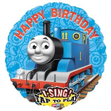Thomas the Tank Jumbo Singing Foil Balloon