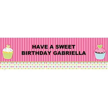 Sweet Treats Personalized Banner
