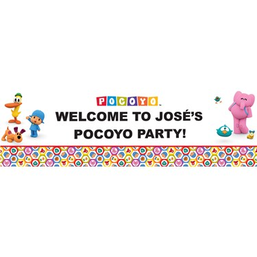Pocoyo Personalized Banner