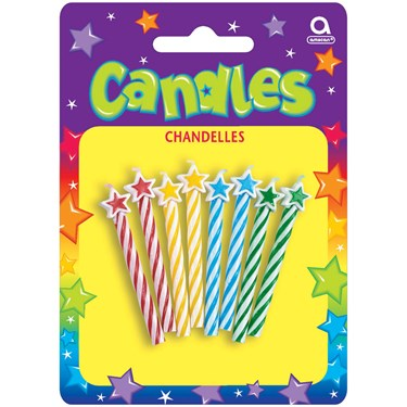 Star Candles (Assorted)