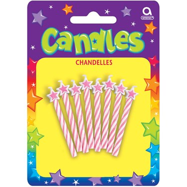 Star Candles (Pink)