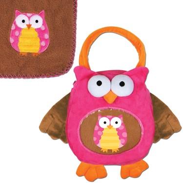 Stephen Joseph Owl Blanket Buddy