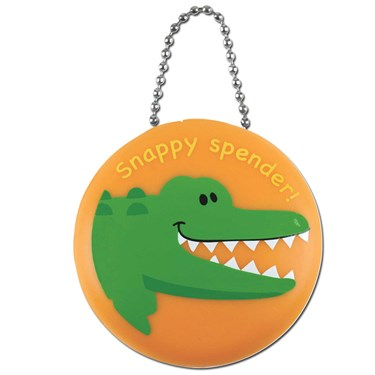 Stephen Joseph Alligator Penny Pinchers Coin Purse