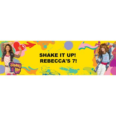 Disney Shake It Up Personalized Banner