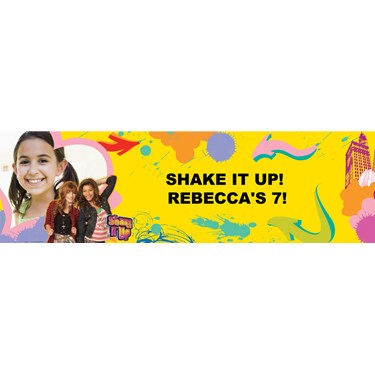 Disney Shake It Up Personalized Photo Vinyl Banner
