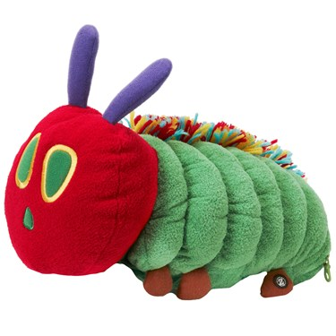Zoobies Very Hungry Caterpillar Storytime 3 in 1 Plush Pals