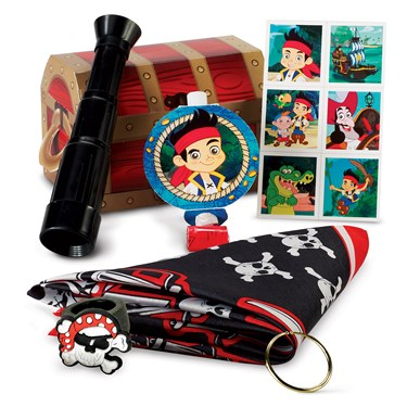 Disney Jake and the Never Land Pirates Filled Party Favor Box