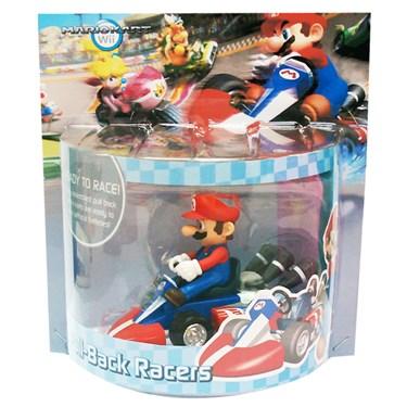 Mario Kart Mario Pull Back Racer