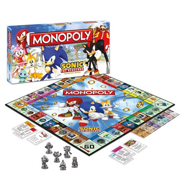 Sonic The Hedgehog Monopoly Game Collector's Edition